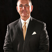 Head Coach Donnie Jones of the University of Central Florida Knights mens basketball team poses on media day at the UCF Arena on October 14, 2010 in Orlando, Florida. (AP Photo/Alex Menendez)