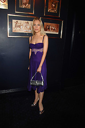 IMOGEN LLOYD WEBBER at a party to celebrate the publication of the 2007 Tatler Little Black Book held at Tramp, 40 Jermyn Street, London on 7th November 2007.<br /><br />NON EXCLUSIVE - WORLD RIGHTS