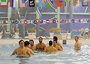 Scotland players during their recovery session.<br /> Scotland rugby union team post match recovery session, Rugby World Cup, Southland Aquatic Centre, Invercargill, Southland, New Zealand, Sunday 10th September 2011<br /> PLEASE CREDIT ***FOTOSPORT/DAVID GIBSON***