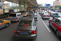 City traffic, Shanghai, China