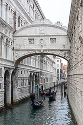 The Bridge of Sighs in Venice. From a series of travel photos in Italy. Photo date: Monday, February 11, 2019. Photo credit should read: Richard Gray/EMPICS Entertainment