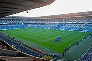General view inside BT Murrayfield Stadium, Edinburgh, Scotland before the Autumn Test match between Scotland and South Africa on 17 November 2018.