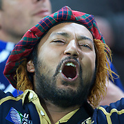 A Scottish fan during the Argentina V Scotland, Pool B match at the IRB Rugby World Cup tournament. Wellington Regional Stadium, Wellington, New Zealand, 25th September 2011. Photo Tim Clayton...