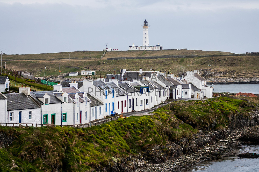 Portnahaven and the Rhinns Lighthouse on the Isle of Islay