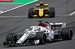 May 13, 2018 - Barcelona, Spain - Marcus Ericsson, team Alfa Romeo Sauber, during the GP Spain F1, on 13th May 2018 in Barcelona, Spain. (Credit Image: © Joan Valls/NurPhoto via ZUMA Press)