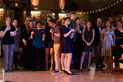 Yale Glee Club 155th Anniversary Celebration 1861-2016. Anniversary Reunion Gala - Singing Dinner at Commons, 29 October 2016