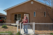 Homeowner Kathy Sax of Albuquerque NM. Photo by Steven St. John for Homewise.
