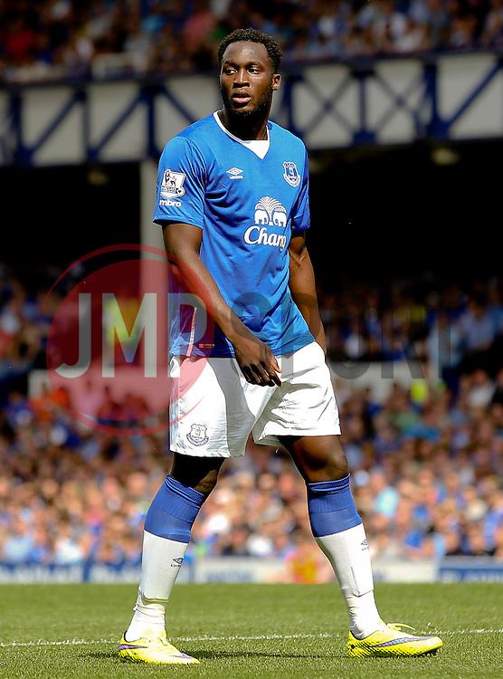 Everton's Romelu Lukaku - Mandatory byline: Matt McNulty/JMP - 07966386802 - 08/08/2015 - FOOTBALL - Goodison Park -Liverpool,England - Everton v Watford - Barclays Premier League