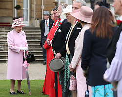 The Queen hosts a Garden Party at Buckingham Palace, London, UK, on the 22nd May 2019. Picture by Yui Mok/WPA-Pool. 29 May 2019 Pictured: Queen, Queen Elizabeth. Photo credit: MEGA TheMegaAgency.com +1 888 505 6342