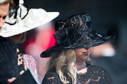 November 3, 2018: Breeders' Cup Horse Racing World Championships. Fancy hats.