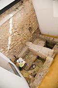 Archaeological excavation work, archaeology museum, Jerez de la Frontera, Cadiz Province, Spain
