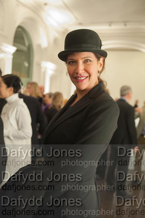 MELBA RUFFO DI CALABRIA, Mariko Mori opening, Royal Academy Burlington Gardens Gallery. London. 11 December 2012.