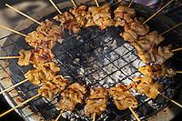 Thai Barbequed Pork Skewers