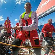 Leg 3, Cape Town to Melbourne, day 02, on board MAPFRE. Photo by Jen Edney/Volvo Ocean Race. 11 December, 2017.