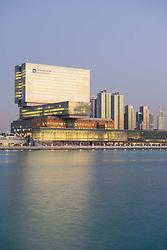 New Cleveland Clinic on Al Maryah Island in Abu Dhabi United Arab Emirates