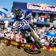 MAY 19, 2018  Rancho Cordova, CA : # 51 Justin Barcia earned his first podium finish since 2016 in third place during the Lucas Oil Pro Motocross Championship 450cc class championship at Hangtown Motocross Classic Rancho Cordova, CA  Thurman James / CSM