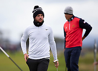 Golf - 2021 Alfred Dunhill Links Championship - Day One  - The Old Course at St Andrew's - Thursday 30th September 2021<br /> <br /> Sam Horsfield on the 17th green<br /> <br /> Credit: COLORSPORT/Bruce White