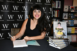February 13, 2018 - London, London, United Kingdom - Melissa Hemsley book signing. Melissa Hemsley, co-founder of London-based healthy foods business Hemsley & Hemsley and food writer signs copies of her new cookbook Eat Happy: 30-minute Feelgood Food, which features 130 recipes that can be made in 30 minutes or less at Waterstones Leadenhall Market, London. (Credit Image: © Nils Jorgensen/i-Images via ZUMA Press)