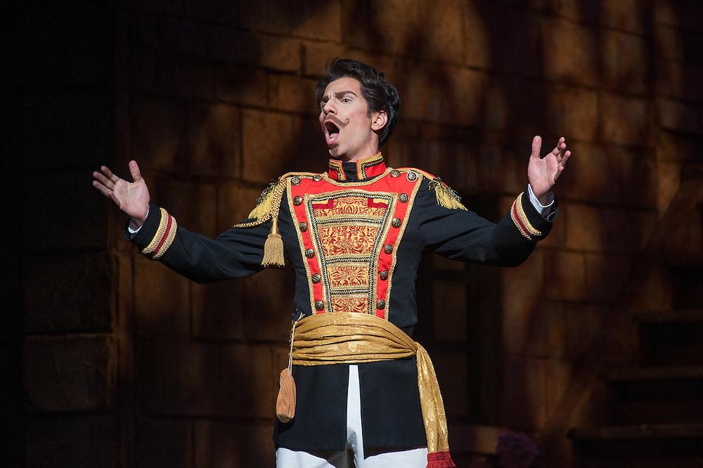 Austin Lyric Opera's production of Gaetano Donizetti's comic opera, The Elixir of Love, April 29, 2014. ( Mark Matson for ALO)