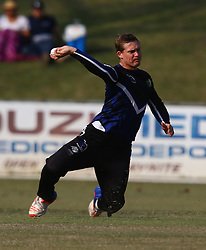 Pietermaritzburg, SOUTH AFRICA 4 September 2016 - Graham Hume of the KwaZulu-Natal Inland during the African Cup T20 game between KwaZulu-Natal Inland and Namibia at the City Oval, Pietermaritzburg, South Africa. Photo by: Steve Haag/ Real Time Images
