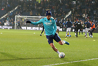 Leeds United players during the pre-match warm-up <br /> <br /> Photographer Stephen White/CameraSport<br /> <br /> The EFL Sky Bet Championship - West Bromwich Albion v Leeds United - Wednesday 1st January 2020 - The Hawthorns - West Bromwich <br /> <br /> World Copyright © 2020 CameraSport. All rights reserved. 43 Linden Ave. Countesthorpe. Leicester. England. LE8 5PG - Tel: +44 (0) 116 277 4147 - admin@camerasport.com - www.camerasport.com<br /> <br /> Photographer Stephen White/CameraSport<br /> <br /> The EFL Sky Bet Championship - West Bromwich Albion v Leeds United - Wednesday 1st January 2020 - The Hawthorns - West Bromwich <br /> <br /> World Copyright © 2020 CameraSport. All rights reserved. 43 Linden Ave. Countesthorpe. Leicester. England. LE8 5PG - Tel: +44 (0) 116 277 4147 - admin@camerasport.com - www.camerasport.com