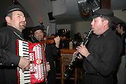 The traditional music band at a Jewish wedding, Israel, May, 2006