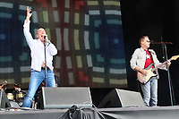 Go West Peter Cox and Richard Drummie, Rewind Festival South, Henley-On-Thames, UK, 22 August 2021, Photo by Richard Goldschmidt