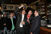 Dan Stein , Jamie Morrison, Jack Kidd and Andrew Barlow, PJ's Annual Polo Party . Annual Pre-Polo party that celebrates the start of the 2007 Polo season.  PJ's Bar & Grill, 52 Fulham Road, London, SW3. 14 May 2007. <br /> -DO NOT ARCHIVE-© Copyright Photograph by Dafydd Jones. 248 Clapham Rd. London SW9 0PZ. Tel 0207 820 0771. www.dafjones.com.