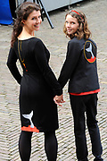 Prinsjesdag 2014 - Aankomst Politici op het Binnenhof.<br /> <br /> Op de foto:  Esther Ouwehand