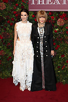 Bee Carrozzini and Anna Wintour, Evening Standard Theatre Awards, London Coliseum, London, UK, 24 November 2019, Photo by Richard Goldschmidt