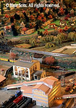 Mini-village coal mine scene, Roadside America, Shartlesville, Berks Co., PA