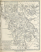 Graeciae Antiquae Ancient, Historical map of Greece Copperplate engraving From the Encyclopaedia Londinensis or, Universal dictionary of arts, sciences, and literature; Volume VIII;  Edited by Wilkes, John. Published in London in 1810.