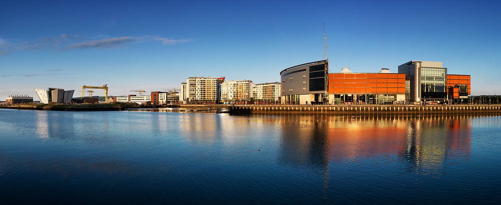 Photographer: Chris Hill, Odyssey and Titanic Belfast