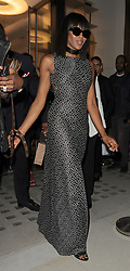 Lottie Moss and Naomi Campbell attend the Azzedine Alaia flagship store launch party, on Bond Street.<br /><br />26 April 2018.<br /><br />Please byline: Will/Vantagenews.com