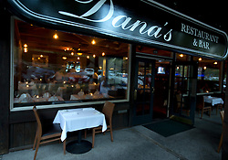 Exterior of Dana's restaurant, in The Livery shopping center in Danville, Calif., Monday, Aug. 17, 2015. (Photo by D. Ross Cameron)