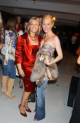 Left to right, JO MALONE and NORMANDIE KEITH at a party hosted by Jo Malone - Pomegranate Noir, held at The Vinyl Factory, 45 Foubert's Place, London W1 on 15th September 2005.<br /><br />NON EXCLUSIVE - WORLD RIGHTS