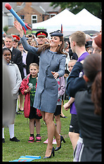 The Queen and Duke and Duchess of Cambridge in Nottingham 13-6-12