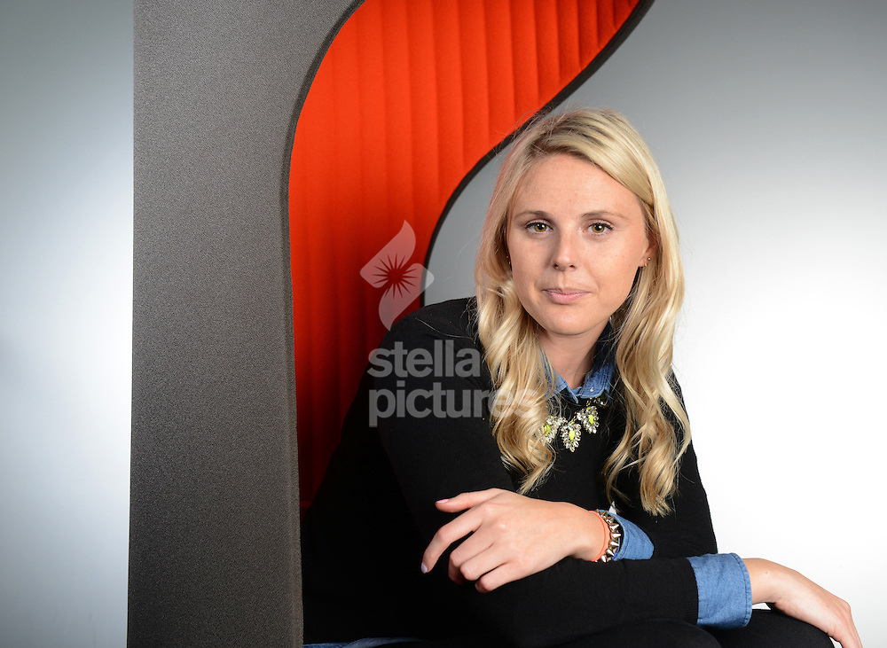Founder of 'Dattch' app, Robyn Exton pictured at the offices of Channel 4, London. <br /> Picture by Daniel Hambury/Stella Pictures Ltd +44 7813 022858<br /> 07/11/2014