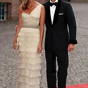 NLD/Apeldoorn/20070901 - Viering 40ste verjaardag Prins Willem Alexander, aankomst Prins Kyril van Bulgarije en prinses Princess Rosario