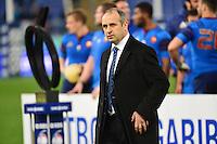 Philippe SAINT ANDRE - 15.03.2015 - Rugby - Italie / France - Tournoi des VI Nations -Rome<br /> Photo : David Winter / Icon Sport