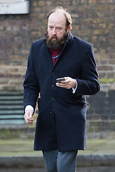 Downing Street, London, February 28th 2017. The Prime Minister's Chief Strategist Nick Timothy pictured in Downing Street in London.