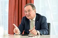 27 NOV 2020, BERLIN/GERMANY:<br /> Armin Laschet, CDU, Ministerpraesident Nordrhein-Westfalen, waehrend einem Interview, Landesvertretung Nordrhein-Westfalen<br /> IMAGE: 20201127-01-013