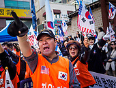 South Korean Conservatives Protest Against Moon Jae-in