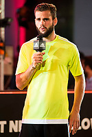 "Real Madrid player Nacho Fernandez during the presentation of the new pack of Adidas football shoes ""Speed of Light"" in Madrid. September 16, 2016. (ALTERPHOTOS/Borja B.Hojas)"
