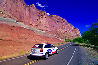 Highway 24, Capitol Reef National Park, Utah USA