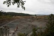 Quarry near Stoke Edith, Herefordshire, United Kingdom.