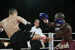 Bury Boxer Scott Quigg started his fight career as a successful junior Thai Boxer, fighting out of GFC Muay Thai Boxing Club in his home town of Bury, before switching codes to become an amateur and then professional boxer, Scott had briefly fought in a few adult level Muay Thai Boxing matches.  <br /> <br /> Scott is currently WBA World Boxing Champion as well as holding the British Lonsdale Belt at Super Bantamweight fighting out of the successful Gallagher's gym based in Bolton under the tutelage of boxing trainer, Joe Gallagher.<br /> <br /> Here's Scott fighting on one of Master Sken's popular shows at the George Carnell Leisure Centre in Urmston, Manchester circa 2006.