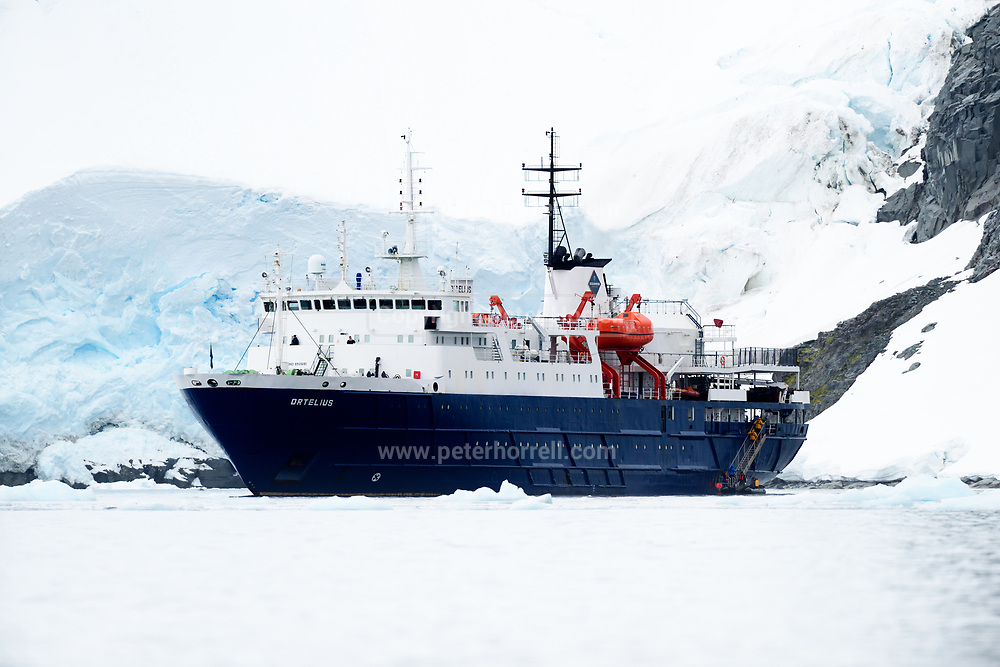 MV Ortelius in Antarctica on Friday 16 February 2018.