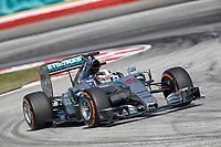 HAMILTON lewis (gbr) mercedes gp mgp w06 action during 2015 Formula 1 FIA world championship, Malaysia Grand Prix, at Sepang from March 27th to 30th. Photo Francois Flamand / DPPI