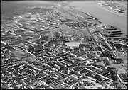 "Ackroyd 08688-5. ""Arcady Press. Aerials. Dan Davis Park. Guilds Lake. November 24, 1958"""